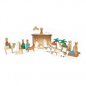 Meri Meri Wood Nativity Advent Calendar 45-3037, 1 Calendar
