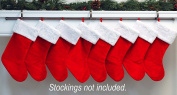 YuleRod Stocking Holder (for Large Families!)
