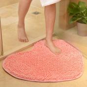 Mynse Soft Lovely Heat Shape Area Bugs Anti-skid for Bedroom Bathroom
