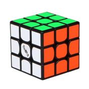 HJXD globle New Valk 3 Mini Magic cube 3x3x3 Sticker Puzzle Cube Black