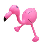 HS PVC Inflatable Flamingo Toys for Beach Party Decor
