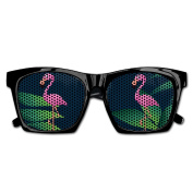 Flamingo Cut Cartoon Funny Mesh Lens Sunglasse Resin Frame Party Favours Fancy Favour 54x20x150MM