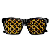 Happy Helloween Pattern Funny Mesh Lens Sunglasse Resin Frame Party Favours Fancy Favour 54x20x150MM