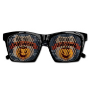 Happy Helloween Pumpkin Good Night Funny Mesh Lens Sunglasse Resin Frame Party Favours Fancy Favour 54x20x150MM