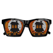 Happy Helloween Art Parttern Funny Mesh Lens Sunglasse Resin Frame Party Favours Fancy Favour 54x20x150MM