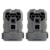 Stealth Cam 10MP Infrared Hunting Scouting Game Trail Camera w/ Video, 2 Pack