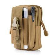EDTara Tactical Pouch Gadget Belt Waist Bag Multifunctional Utility Tool Organiser Pouch Cell Phone Holder
