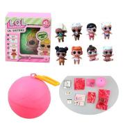 Rcool LOL L.O.L. Surprise Doll Balls Fun Series 2 Lil Sister - 5 Layers