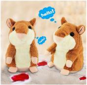 Malloom Plush Toys,2017 New Style Talking Hamster Electronic Pet Talking Plush Buddy Mouse for Kids