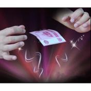 uhoMEy Invisible Elastic Magic Thread, Stretch Hidden Coil Thread Loop, Haunted Magic Tricks that Float Suspension