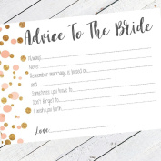 Hen Party 10 Advice To The Bride Cards Games Team Bride Hen Party Accessories Polka Dot