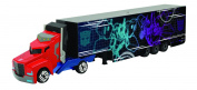 Smoby 203113006 Transformers Die Cast Optimus Prime Truck and Trailer Toy