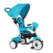 Q Play Comfort 4-IN-1Trike Blue