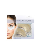 BEAUTY FACE - Collagen Eye Mask - Gold Granules - Rejuvenation and Circulation Improvement - For 35+ Skins - For a Fresh, Restful and Rejuvenated Look