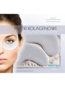 BEAUTY FACE - Collagen Eye Mask - Sensitive Skin - Rejuvenation and Circulation Improvement - For a Fresh, Restful and Rejuvenated Look
