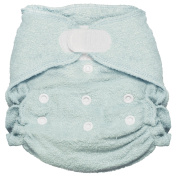 Imagine Baby Products Fitted Bamboo Nappy 2.0, Indigo, H & L