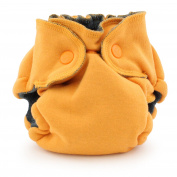 Ecoposh OBV Newborn Fitted Cloth Nappy, Saffron