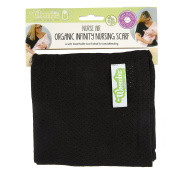 Woombie NURSE AIR Infinity Nursing Scarves, Black