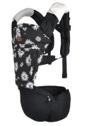 5 in1 Baby Cotton Ergonomic Carrier Sling with Hip Seat and Windproof Cover Adjustable Straps for Mom and Dad