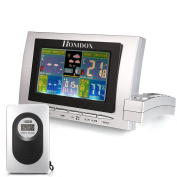 Homdox 3617 Wireless Weather Forecast Station Temperature Humidity Monitor 5-in-1 Weather Sensor