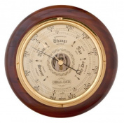 COBB & Co. Round Barometer (Walnut) by COBB & Co. Clocks