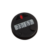 Fashion Outlet HygroSet Round Digital Hygrometer Temperature Humidifier For Humidors