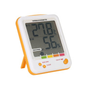 Decdeal LCD Digital Thermo-hygrometer Temperature Humidity Measurement Metre with Heatstroke Alarm Function
