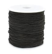 0.8mm Prayer Beads Elastic Thread - 109 Yard - Core-spun Elastic Cord for DIY Hand Knitting Beads String Rope Buddha Beads