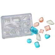 WXLAA Silicon Resin Casting Stud Earrings Mould Jewellery Mould DIY Craft Making
