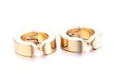 Mens Hoop Earrings Stainless Steel Earrings Mens Fashion Gold Hoop Earrings