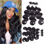 7A Unprocessed Brazilian Virgin Human Hair Body Weave 1 Bundles 80cm virgin Hair Weft Extensions Natural Colour
