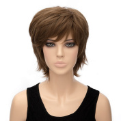 Alacos Fashion Curly Wavy Synthetic Christmas Costumes Party Wigs Collection for Men And Women +Wig Cap