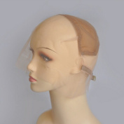 VRwig Swiss Lace Full Lace Wig Cap For Make Wig With Ajustable Strap Colour To Choose