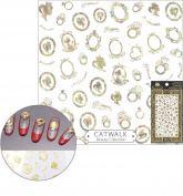 Catwalk Premium Peel-N-Stick Holographic Nail Stickers