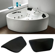 Bath Spa Bathtub Pillow Headrest Support Anti-slip Pillow,soft And Comfortable,ergonomic Design Perfect For Home,hotels,beauty Salons Other Recreational Places.