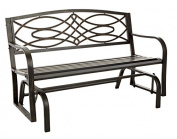 Living Accents Bench Glider Steel