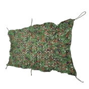 1M x 2M Woodland Blinds Military Hunting Camping Tent Car Hide Cover Camouflage Net Outdoor Tactical Gear