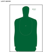 Louisiana POST Approved Training Silhouette (2009 Version) Updated target now includes head & neck area impact areas Green Size
