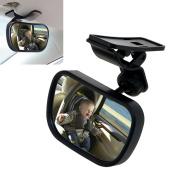 TedGem Baby Car Mirror,Baby Car Mirror Baby Safety Mirror Car Adjustable Back Seat Rear View Mirror with Sucktion Cup