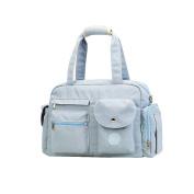 Homespon Baby Nappy Bag Large Capacity Handbag Multi-Function Mom bag Waterproof Travel Backpack Nappy Bags for Baby,blue