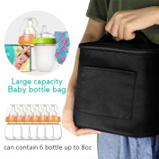 JamBer Baby Bottle Bag For Insulated Breastmilk Storage Air Tight Design to Lock in the Cold & Preserve Important Nutrients for Baby