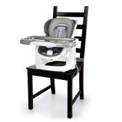 Ingenuity Boutique Collection ChairMate Chair Top High Chair in Grey, Bella Teddy