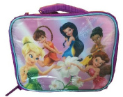 Disney Tinkerbell Lunchbox Purple Pixie Fairies Hollow Games Insulated Lunch Bag