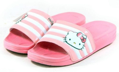 Hello Kitty LALA New Womens Lovely Slippers Shoes Pink US size 6 by Hello Kitty