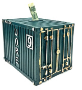 Shipping Container Piggy Bank, Money bank