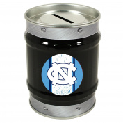 UNC Tar Heels Tin Money Bank
