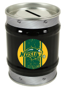 North Dakota State Bison Tin Money Bank