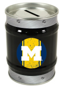 Michigan Wolverines Tin Money Bank