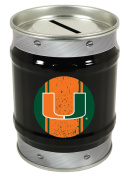 Miami Hurricanes Tin Money Bank