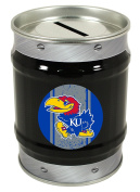 Kansas Jayhawks Tin Money Bank